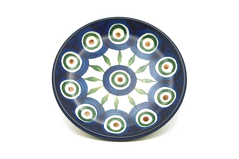 Ceramika Artystyczna Polish Pottery Coaster - Peacock 262-054a (Ceramika Artystyczna)