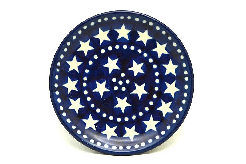 Ceramika Artystyczna Polish Pottery Coaster - Starlight 262-0119a (Ceramika Artystyczna)