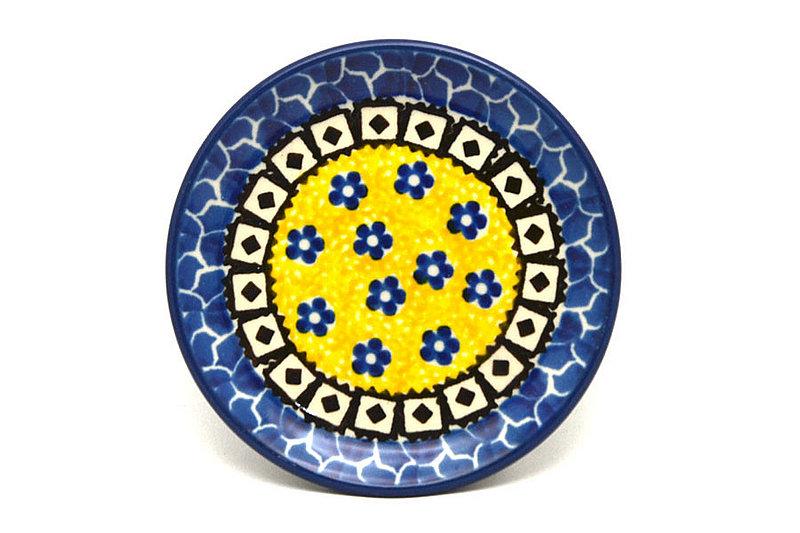Ceramika Artystyczna Polish Pottery Coaster - Sunburst 262-859a (Ceramika Artystyczna)