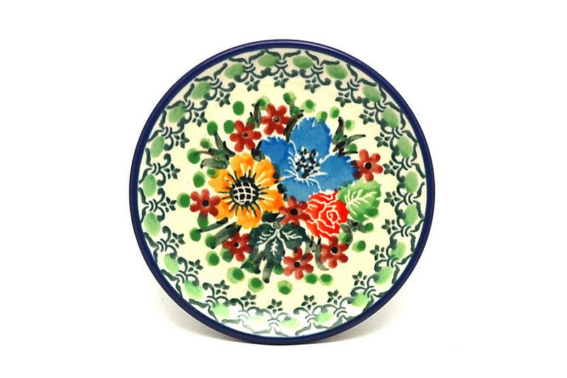 Ceramika Artystyczna Polish Pottery Coaster - Unikat Signature - U3347 262-U3347 (Ceramika Artystyczna)