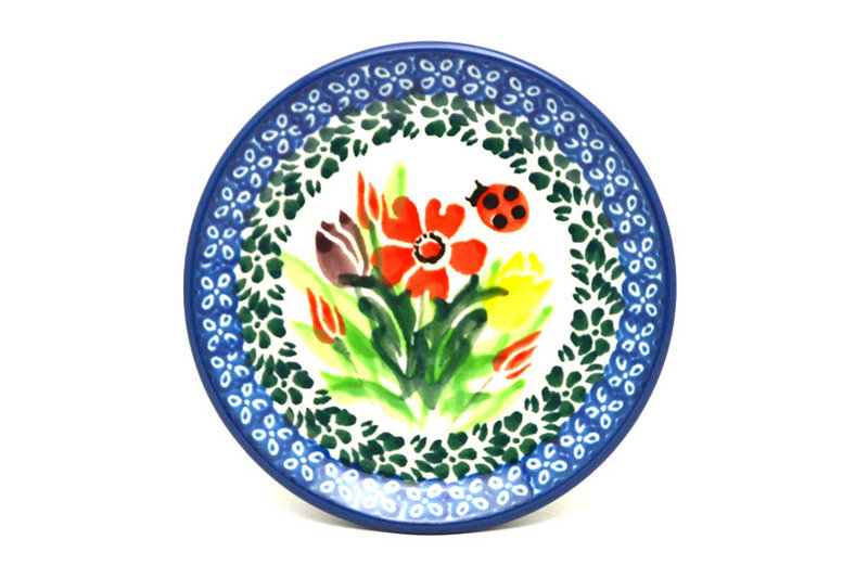 Polish Pottery Coaster - Unikat Signature - U3787