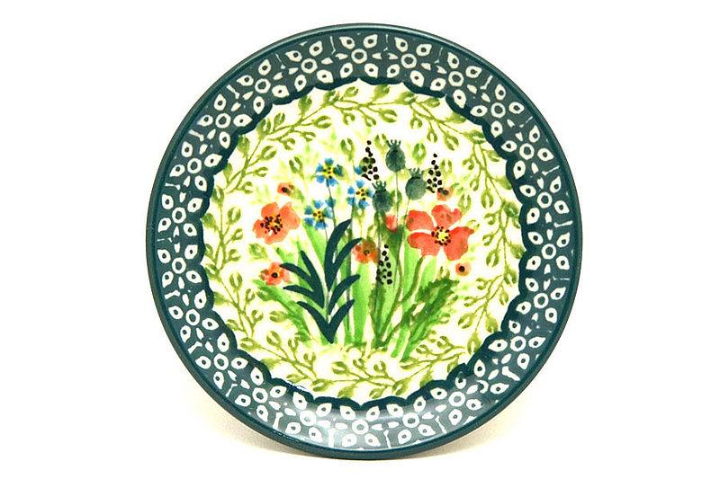 Ceramika Artystyczna Polish Pottery Coaster - Unikat Signature - U4335 262-U4335 (Ceramika Artystyczna)