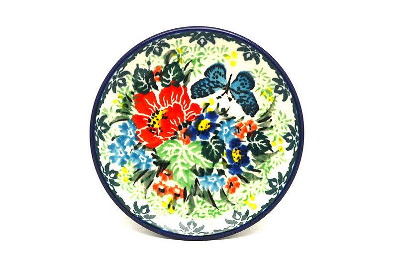 Ceramika Artystyczna Polish Pottery Coaster - Unikat Signature - U4553 262-U4553 (Ceramika Artystyczna)