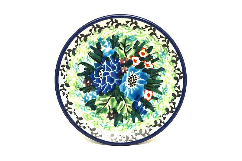 Ceramika Artystyczna Polish Pottery Coaster - Unikat Signature - U4572 262-U4572 (Ceramika Artystyczna)