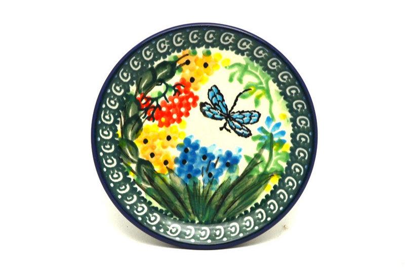 Ceramika Artystyczna Polish Pottery Coaster - Unikat Signature - U4612 262-U4612 (Ceramika Artystyczna)