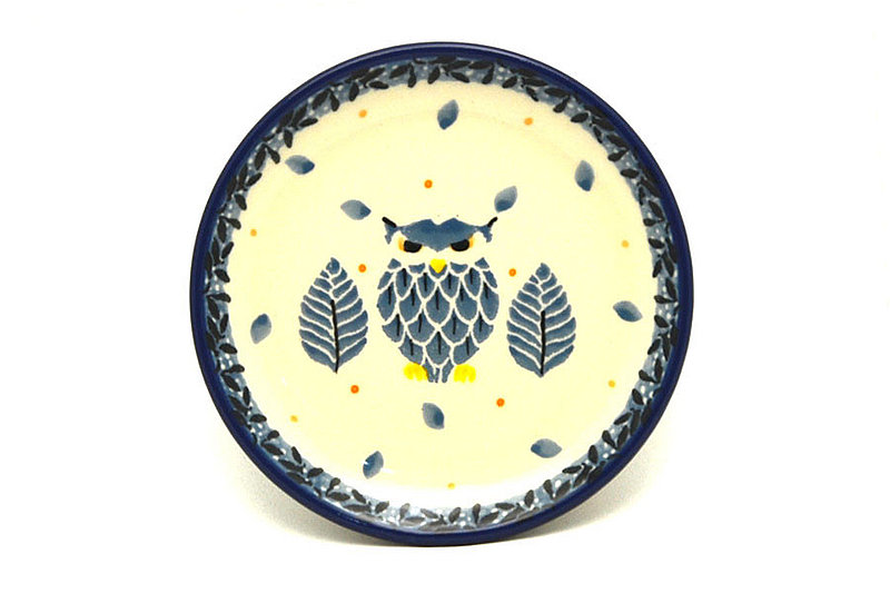 Polish Pottery Coaster - Unikat Signature - U4873