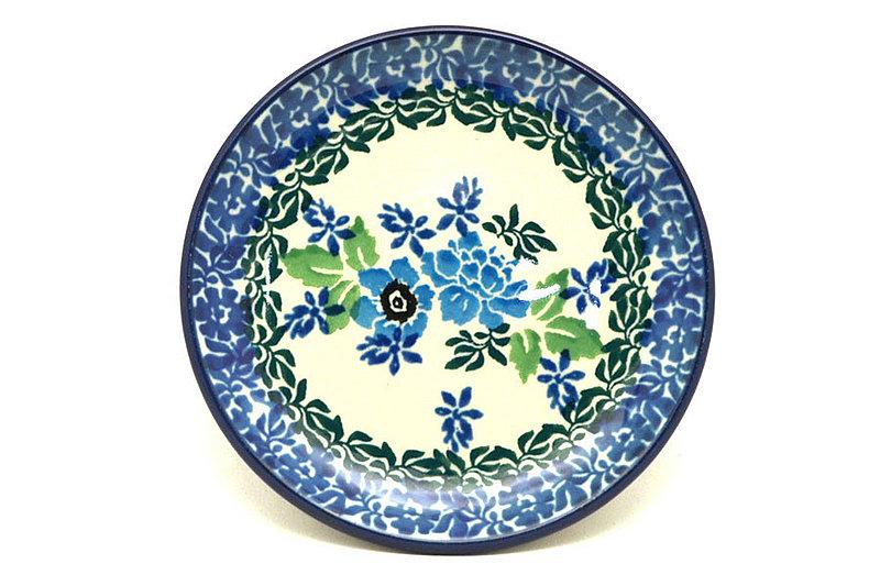 Ceramika Artystyczna Polish Pottery Coaster - Wild Indigo 262-1865a (Ceramika Artystyczna)