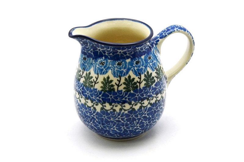 Ceramika Artystyczna Polish Pottery Creamer - 10 oz. - Antique Rose B84-1390a (Ceramika Artystyczna)