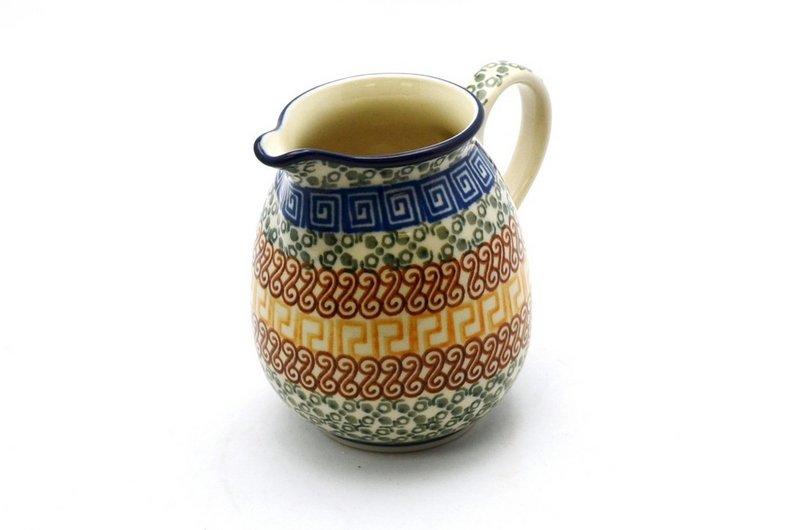 Ceramika Artystyczna Polish Pottery Creamer - 10 oz. - Autumn B84-050a (Ceramika Artystyczna)