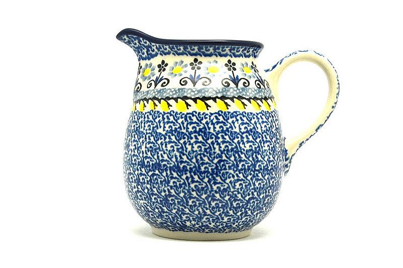Ceramika Artystyczna Polish Pottery Creamer - 10 oz. - Daisy Maize B84-2178a (Ceramika Artystyczna)