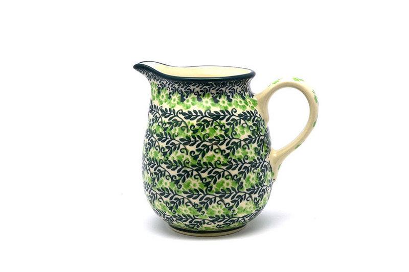 Ceramika Artystyczna Polish Pottery Creamer - 10 oz. - Irish Meadow B84-1888q (Ceramika Artystyczna)