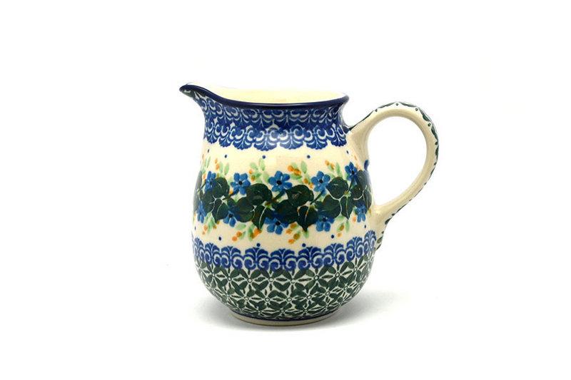 Ceramika Artystyczna Polish Pottery Creamer - 10 oz. - Ivy Trail B84-1898a (Ceramika Artystyczna)