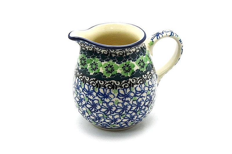 Ceramika Artystyczna Polish Pottery Creamer - 10 oz. - Kiwi B84-1479a (Ceramika Artystyczna)
