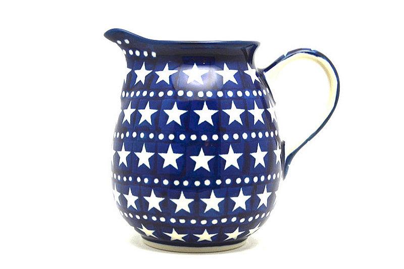 Ceramika Artystyczna Polish Pottery Creamer - 10 oz. - Starlight B84-0119a (Ceramika Artystyczna)