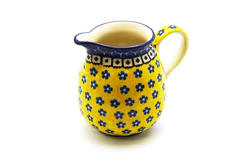 Ceramika Artystyczna Polish Pottery Creamer - 10 oz. - Sunburst B84-859a (Ceramika Artystyczna)