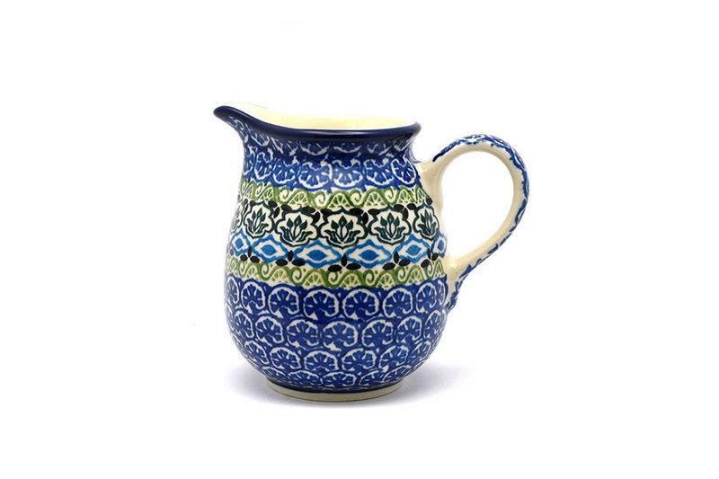 Ceramika Artystyczna Polish Pottery Creamer - 10 oz. - Tranquility B84-1858a (Ceramika Artystyczna)