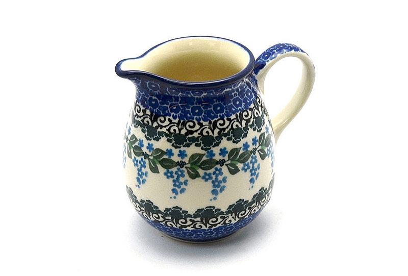 Ceramika Artystyczna Polish Pottery Creamer - 10 oz. - Wisteria B84-1473a (Ceramika Artystyczna)