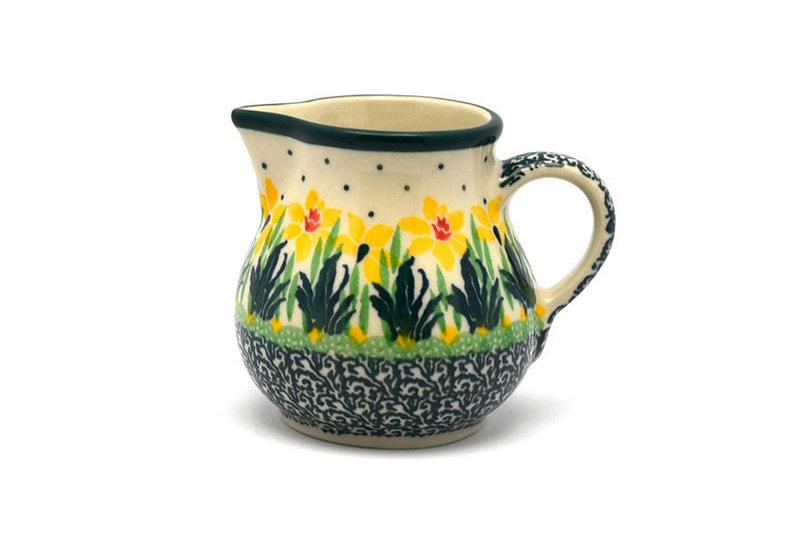 Ceramika Artystyczna Polish Pottery Creamer - 4 oz. - Daffodil 091-2122q (Ceramika Artystyczna)