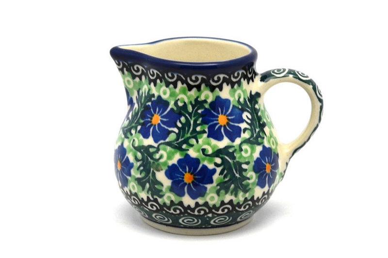 Ceramika Artystyczna Polish Pottery Creamer - 4 oz. - Sweet Violet 091-1538a (Ceramika Artystyczna)
