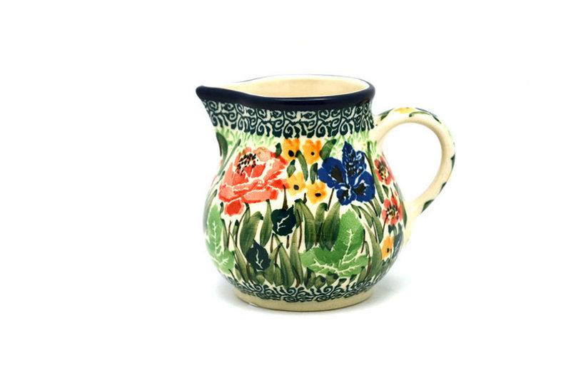 Ceramika Artystyczna Polish Pottery Creamer - 4 oz. - Unikat Signature U4400 091-U4400 (Ceramika Artystyczna)