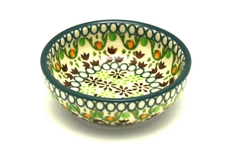 Ceramika Artystyczna Polish Pottery Dish - Round Food Prep - Mint Chip B88-2195q (Ceramika Artystyczna)