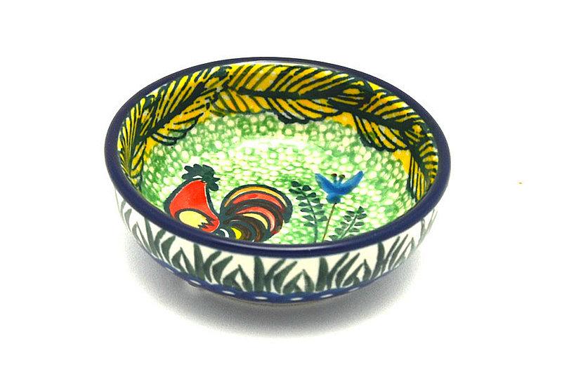Ceramika Artystyczna Polish Pottery Dish - Round Food Prep - Unikat Signature - U2663 B88-U2663 (Ceramika Artystyczna)