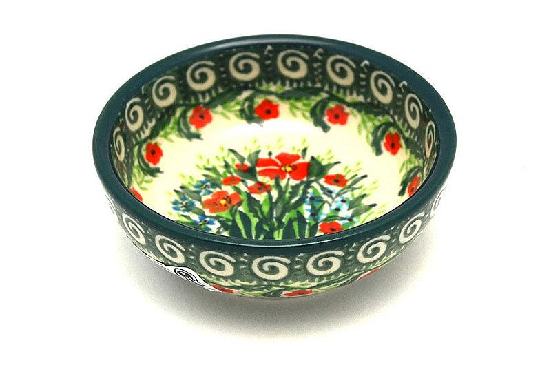 Ceramika Artystyczna Polish Pottery Dish - Round Food Prep - Unikat Signature - U4336 B88-U4336 (Ceramika Artystyczna)