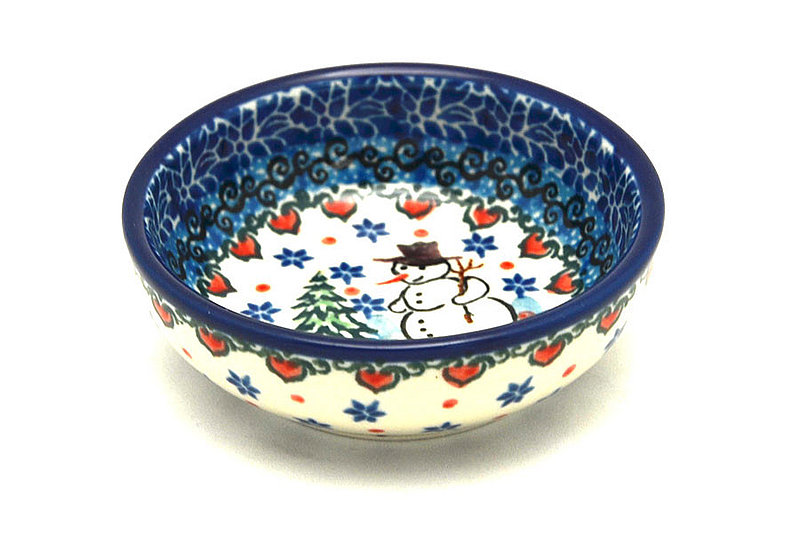 Ceramika Artystyczna Polish Pottery Dish - Round Food Prep - Unikat Signature - U4661 B88-U4661 (Ceramika Artystyczna)