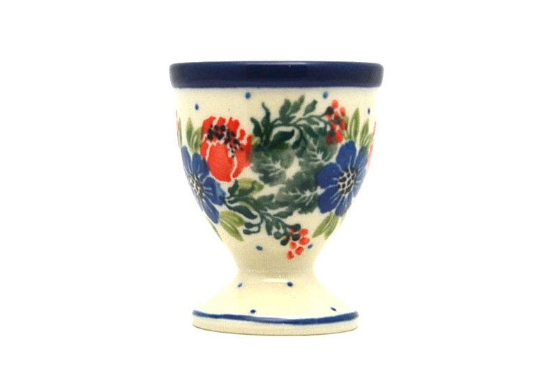 Ceramika Artystyczna Polish Pottery Egg Cup - Garden Party 106-1535a (Ceramika Artystyczna)