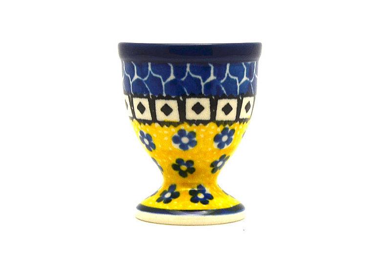 Ceramika Artystyczna Polish Pottery Egg Cup - Sunburst 106-859a (Ceramika Artystyczna)