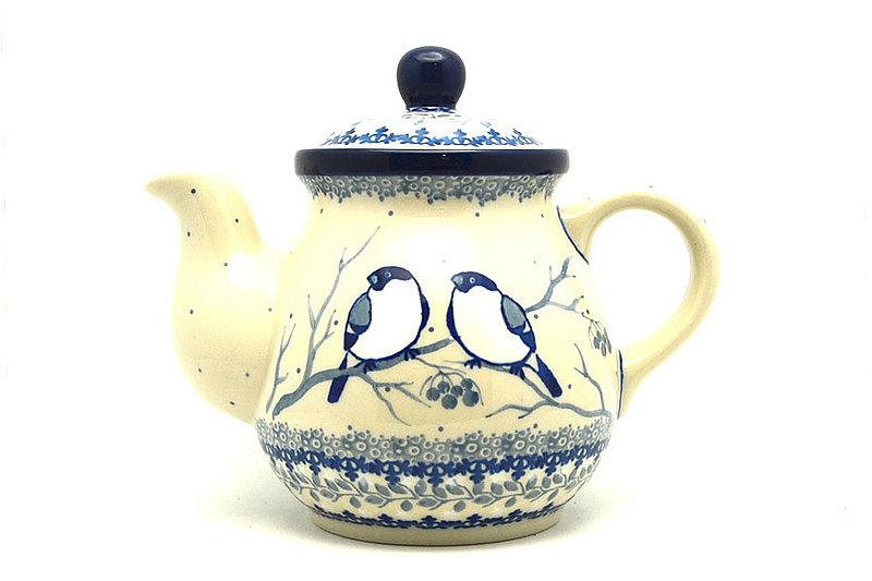 Ceramika Artystyczna Polish Pottery Gooseneck Teapot - 20 oz. - Unikat Signature - U4830 119-U4830 (Ceramika Artystyczna)