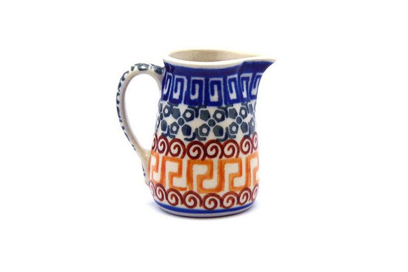Ceramika Artystyczna Polish Pottery Miniature Pitcher - Autumn 315-050a (Ceramika Artystyczna)