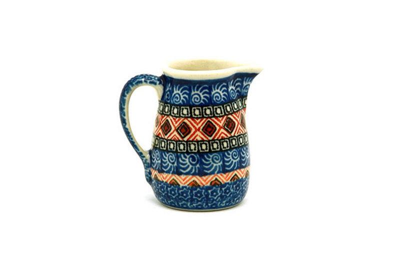Ceramika Artystyczna Polish Pottery Miniature Pitcher - Aztec Sun 315-1350a (Ceramika Artystyczna)