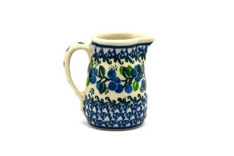 Ceramika Artystyczna Polish Pottery Miniature Pitcher - Blue Berries 315-1416a (Ceramika Artystyczna)