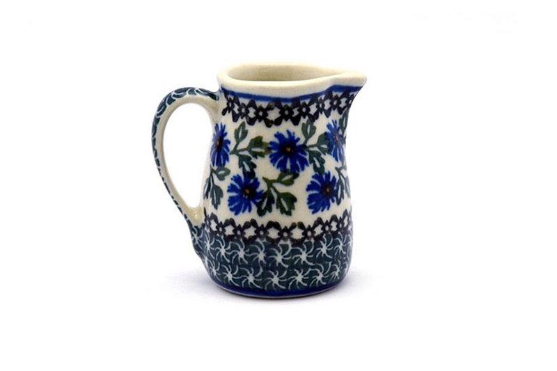 Ceramika Artystyczna Polish Pottery Miniature Pitcher - Blue Chicory 315-976a (Ceramika Artystyczna)