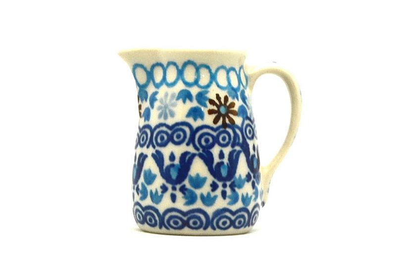 Ceramika Artystyczna Polish Pottery Miniature Pitcher - Blue Yonder 315-2187a (Ceramika Artystyczna)