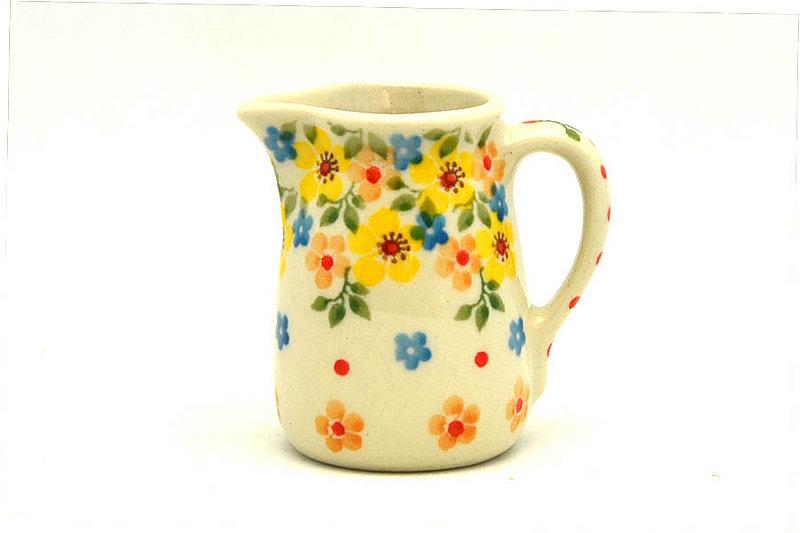 Ceramika Artystyczna Polish Pottery Miniature Pitcher - Buttercup 315-2225a (Ceramika Artystyczna)