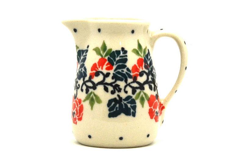 Ceramika Artystyczna Polish Pottery Miniature Pitcher - Christmas Pageant 315-1970a (Ceramika Artystyczna)