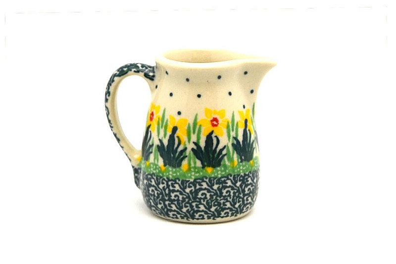 Ceramika Artystyczna Polish Pottery Miniature Pitcher - Daffodil 315-2122q (Ceramika Artystyczna)
