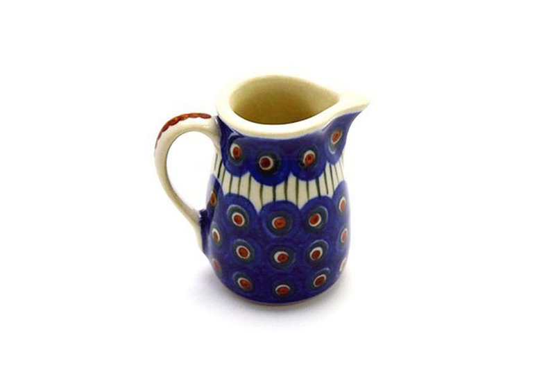 Ceramika Artystyczna Polish Pottery Miniature Pitcher - Peacock 315-054a (Ceramika Artystyczna)