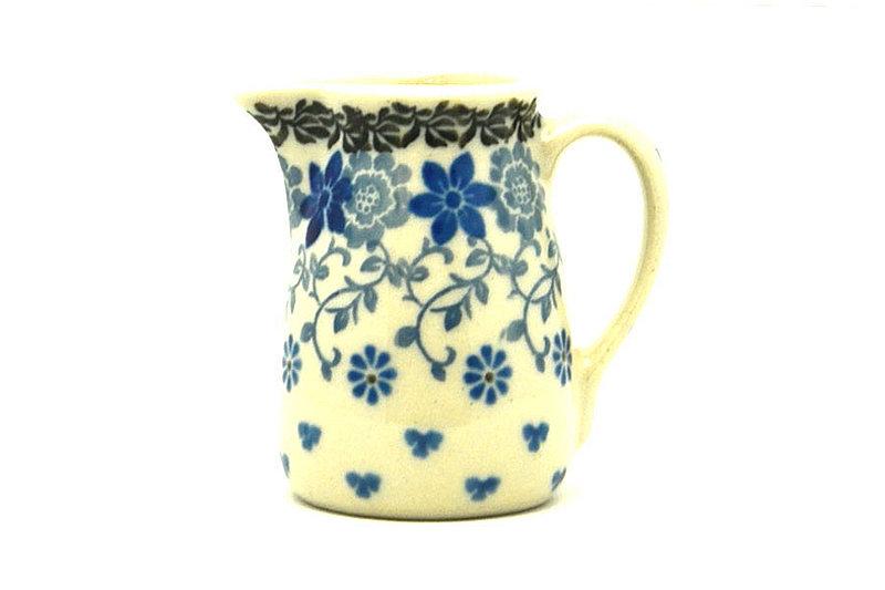 Ceramika Artystyczna Polish Pottery Miniature Pitcher - Silver Lace 315-2158a (Ceramika Artystyczna)