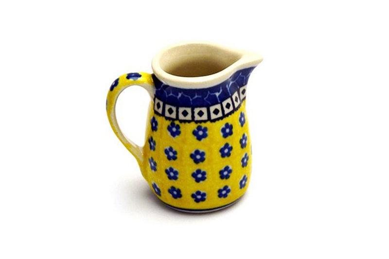 Ceramika Artystyczna Polish Pottery Miniature Pitcher - Sunburst 315-859a (Ceramika Artystyczna)
