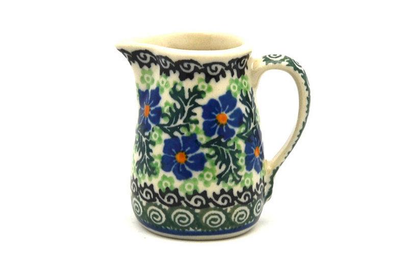 Ceramika Artystyczna Polish Pottery Miniature Pitcher - Sweet Violet 315-1538a (Ceramika Artystyczna)