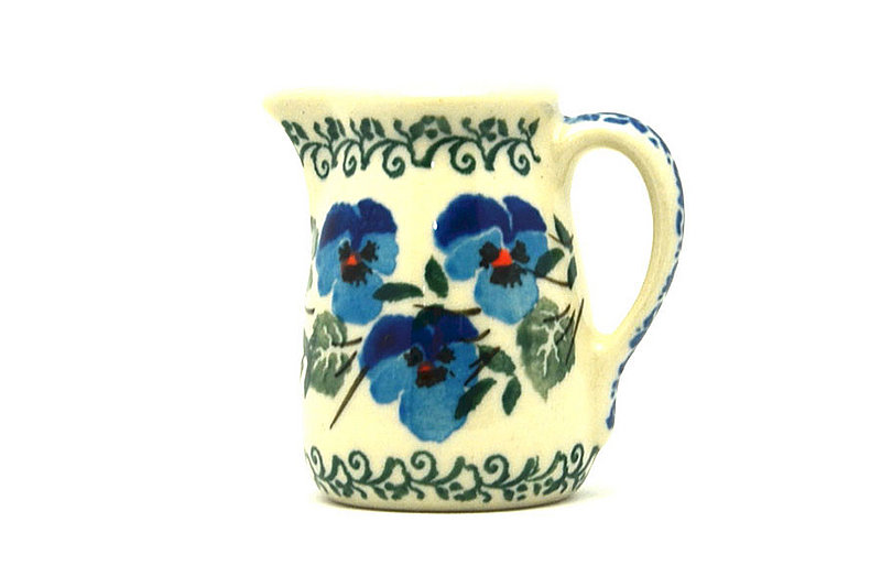 Ceramika Artystyczna Polish Pottery Miniature Pitcher - Winter Viola 315-2273a (Ceramika Artystyczna)