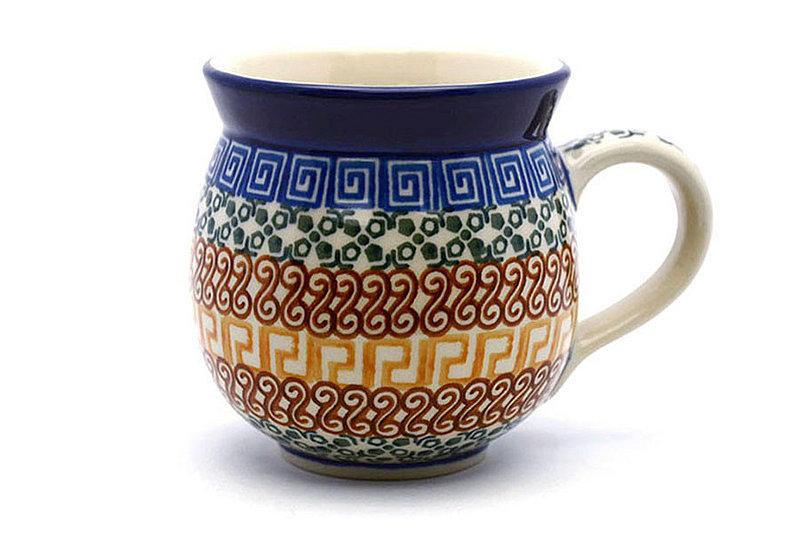 Ceramika Artystyczna Polish Pottery Mug - 11 oz. Bubble - Autumn 070-050a (Ceramika Artystyczna)