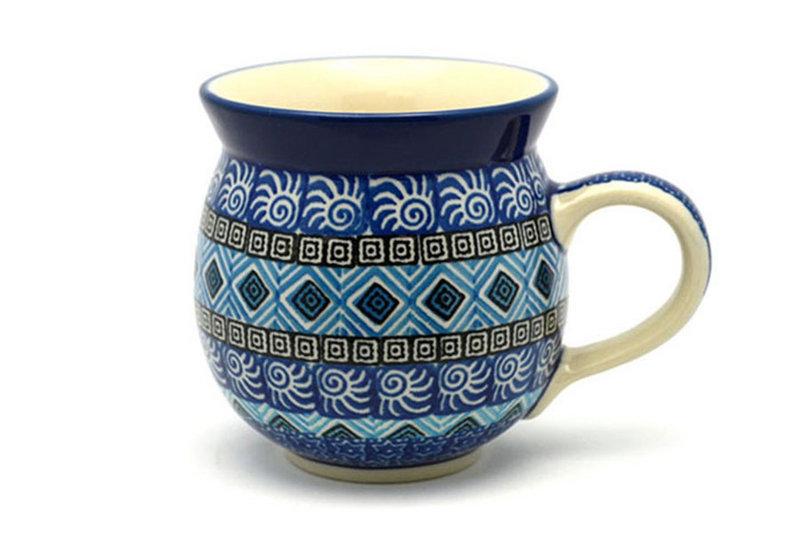 Ceramika Artystyczna Polish Pottery Mug - 11 oz. Bubble - Aztec Sky 070-1917a (Ceramika Artystyczna)