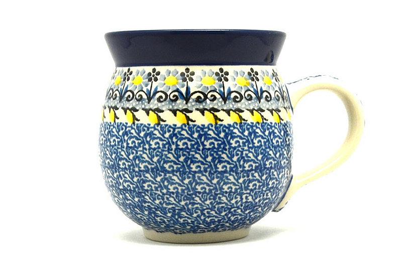 Ceramika Artystyczna Polish Pottery Mug - 11 oz. Bubble - Daisy Maize 070-2178a (Ceramika Artystyczna)