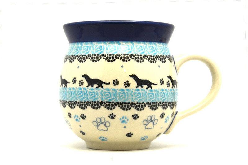 Ceramika Artystyczna Polish Pottery Mug - 11 oz. Bubble - Diggity Dog 070-2152a (Ceramika Artystyczna)