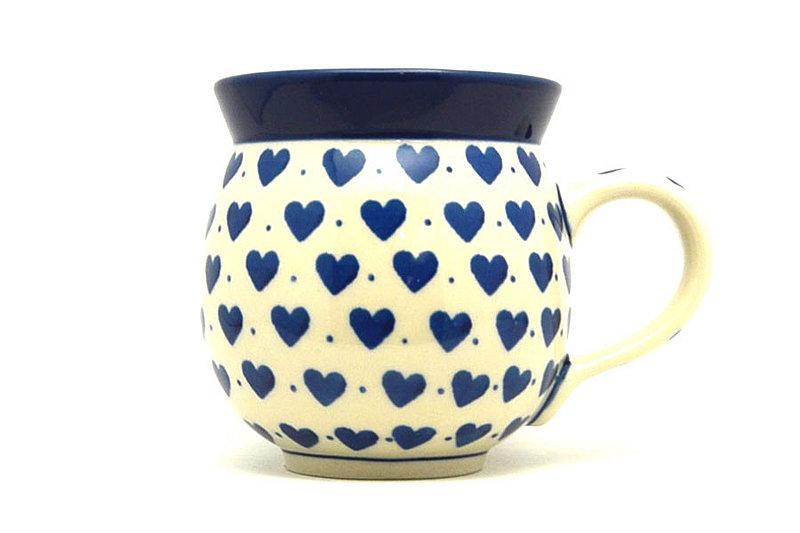 Polish Pottery Mug - 11 oz. Bubble - Hearts Delight