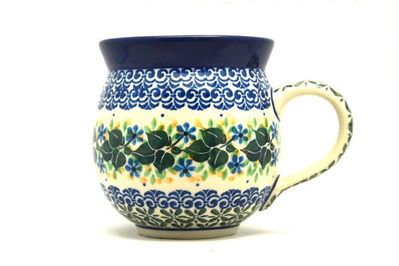 Ceramika Artystyczna Polish Pottery Mug - 11 oz. Bubble - Ivy Trail 070-1898a (Ceramika Artystyczna)